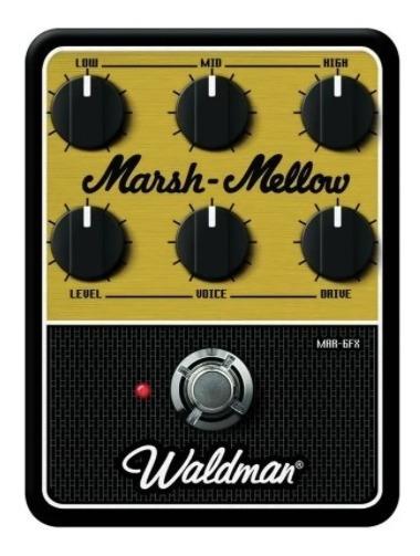Pedal De Guitarra Waldman Distortion Marsh-mellow Mar-6fx