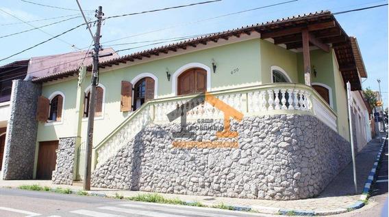 Casa Com 4 Dormitórios À Venda, 200 M² Por R$ 1.242.000,00 - Centro - Itatiba/sp - Ca0801