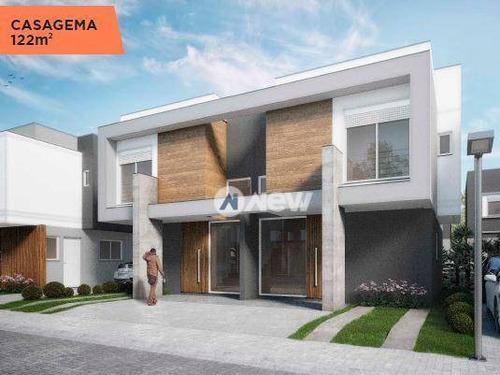 Imagem 1 de 9 de Casa À Venda, 122 M² Por R$ 805.000,00 - Santa Teresa - São Leopoldo/rs - Ca3026