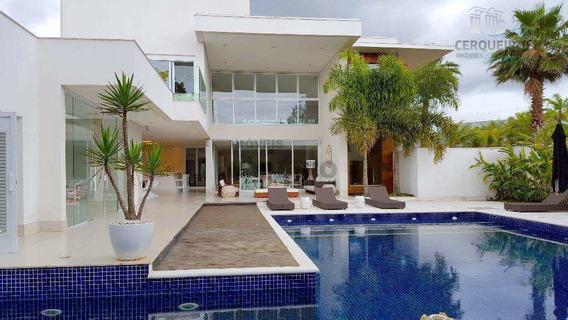 Sobrado Condomínio Com 6 Suíte , Acapulco, Guarujá - R$ 7.9 Mi. - V4258