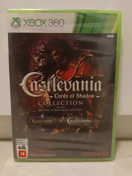 Castlevania - Lords Of Shadow - Collection | P/ Xbox 360
