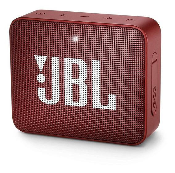 Caixinha Jbl Go 2 Bluetooth A Prova D´água Original - Red