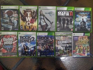Pack De Juegos Xbox 360 Originales Intactos