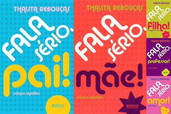 5 Livros Fala Sério, Pai! + Mãe + Filha + Professor + Amor