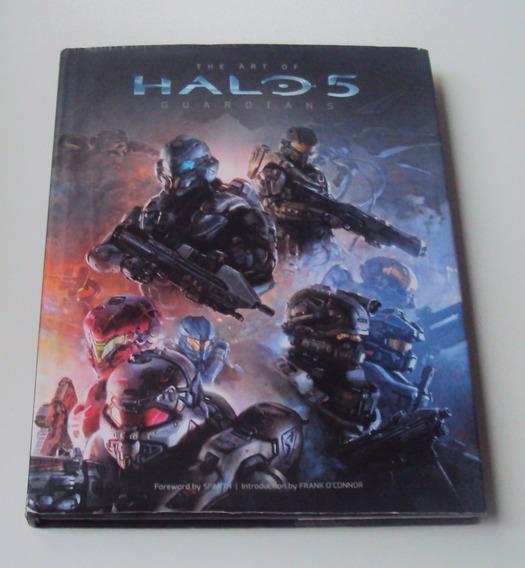 The Art Of Halo 5 - Guardians - Original Em Excelente Estado