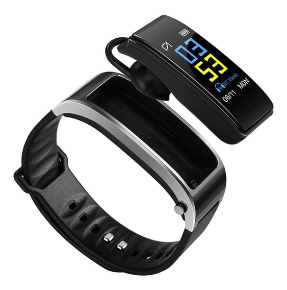 Pulseira Inteligente Smartwatch E Fone De Ouvido Bluetooth