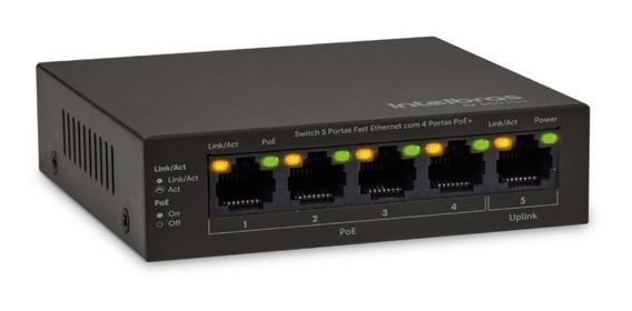 Switch 5 Portas Sf 500 Poe Fast Ethernet Com 4 Portas Poe +
