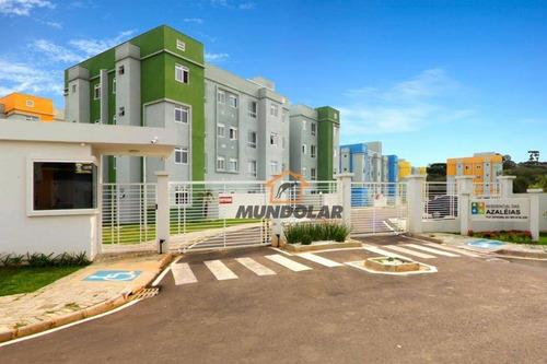 Apartamento Com 2 Dormitórios À Venda, 41 M² Por R$ 138.500 - Tindiquera - Araucária/pr - Ap2172