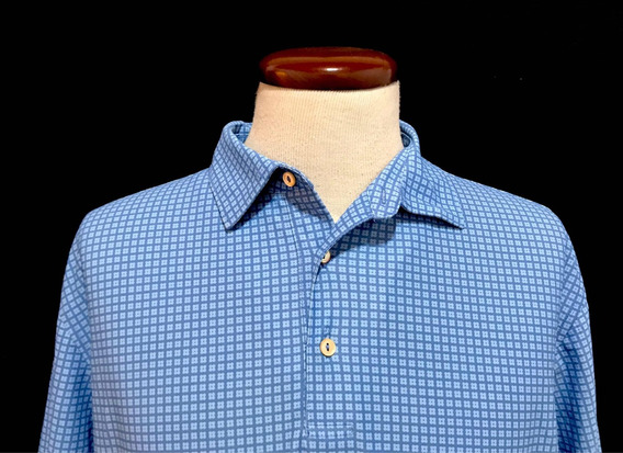 Playera Polo Peter Millar Summer Comfort L Ultracomoda Usa