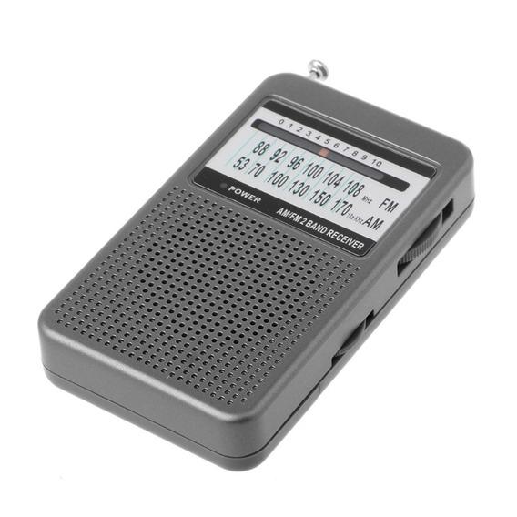 Rádio Receptor Kaimeda Sr-201 Am/fm Importado Leve