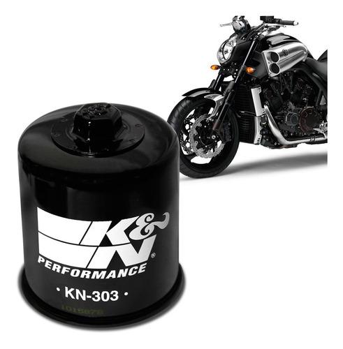 Filtro Óleo K&n Moto Yamaha V-max 1700 2013 2014