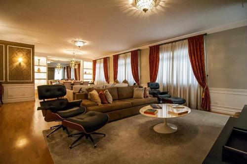 Apartamento Com 3 Dormitórios À Venda, 200 M² Por R$ 2.600.000,00 - Higienópolis - São Paulo/sp - Ap44877