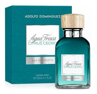 Perfume Agua Fresca Citrus Cedro A. Dominguez Envio Gratis