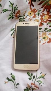 Moto G5 Plus Gold 32gb Semi Novo