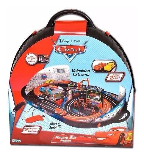 Cars Racing Set Plegable Pista Con 2 Autos Orig.de Ditoys