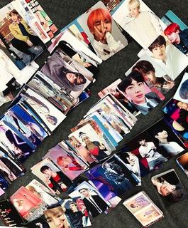 50 Photocards Bts Kpop