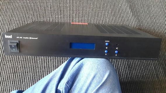 Amplificador 400 Watts Bluetooth + Entrada Ótica