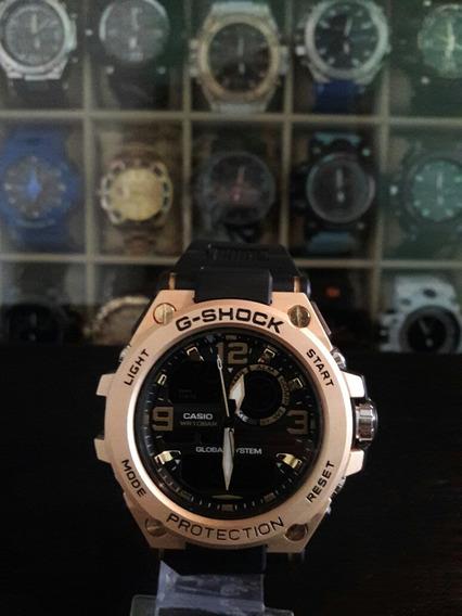 G- Shock Caixa De Aço