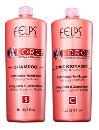 Felps Xforce Shampoo + Condicionador 1 Litro