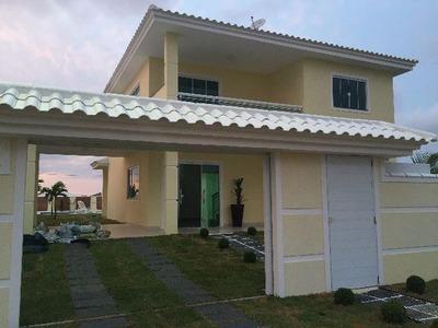 Linda Casa Com 5 Quartos Em Condomínio! - 396