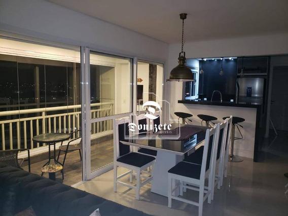 Apartamento Com 3 Dormitórios À Venda, 80 M² Por R$ 649.000,00 - Vila Homero Thon - Santo André/sp - Ap13668