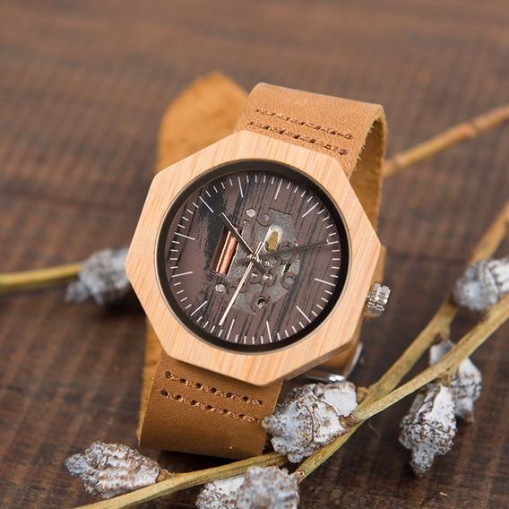 Relógio Feminino Bambu W-i09