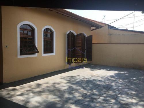 Casa Com 4 Dormitórios À Venda, 207 M² Por R$ 550.000,00 - Monte Castelo - São José Dos Campos/sp - Ca0458