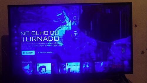 Imagem 1 de 2 de Tv LG Webos 43 Lj5500 Tela Quebrada