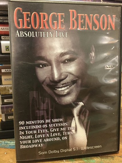 Dvd George Benson - Absolutely Live