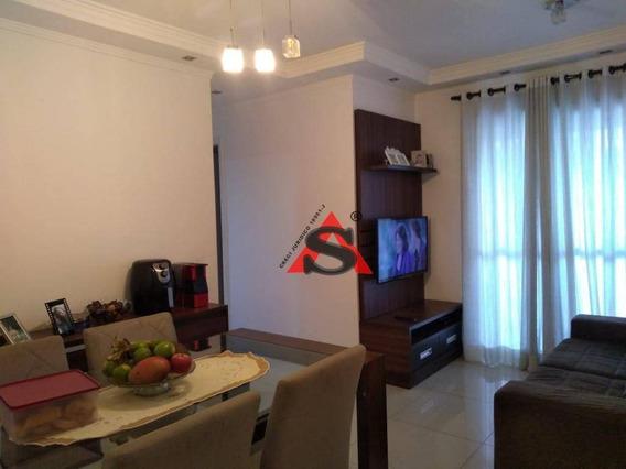Apartamento Com 3 Dormitórios À Venda, 63 M² Por R$ 330.000,00 - Vila São José - Diadema/sp - Ap40176