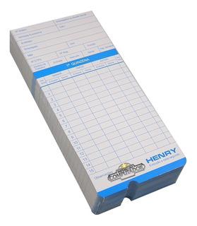 Cartão De Ponto Para Relógio Trix Vega Rhj Kp10 Xcard C/100