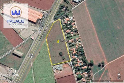 Área À Venda, 30200 M² Por R$ 7.500.000,00 - Campestre - Piracicaba/sp - Ar0035