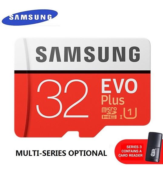 Samsung Evo+cartão De Memória 32gb Micro Sd/tf 80mb/s Class1