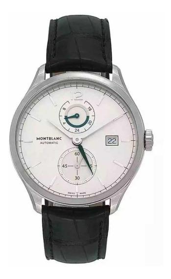 Relógio Original Montblanc Heritage Chronometrie Dual Time
