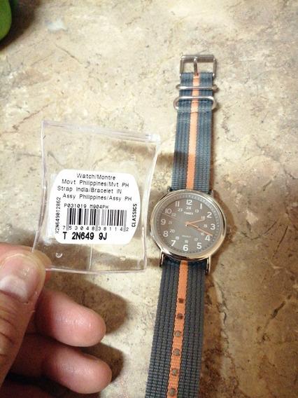 Reloj Timex T2n649 Original Con Luz Indiglo Nuevo