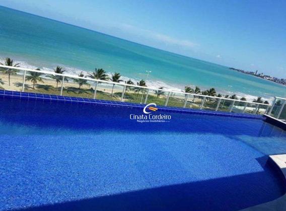 Flat Com 1 Dormitório Para Alugar, 21 M² Por R$ 1.550,00/mês - Intermares - Cabedelo/pb - Fl0093