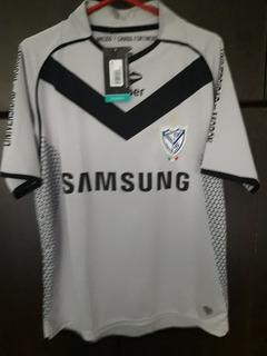 Camiseta Arquero Vélez Sarsfield Gris Nueva Samsung