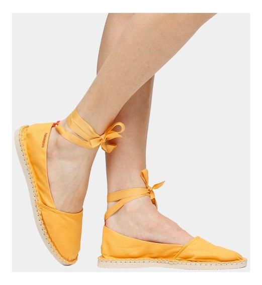 Sapatilha Alpargatas Havaianas Slim - Bailarina Amarelo