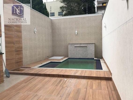 Sobrado Residencial À Venda, Bairro Jardim, Santo André. - So3022