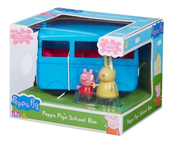 Peppa Pig Bus Escolar A Friccion