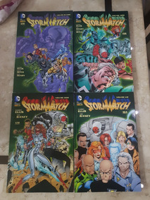 Stormwatch - Vols. 1 A 4 - Panini Completo - Warren Ellis