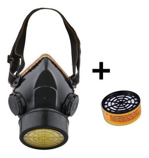 Mascara Antigases Filtro Único Mas Repuesto
