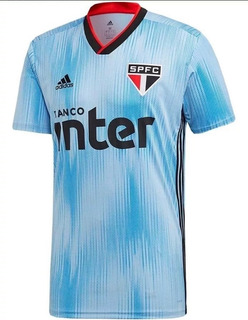 Camisa São Paulo Azul Original - 2019/20 - Lugano Uruguai!