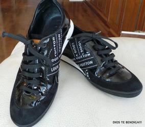 Louis Vuitton Zapatillas Lesley Serie Li0037 Originales 36