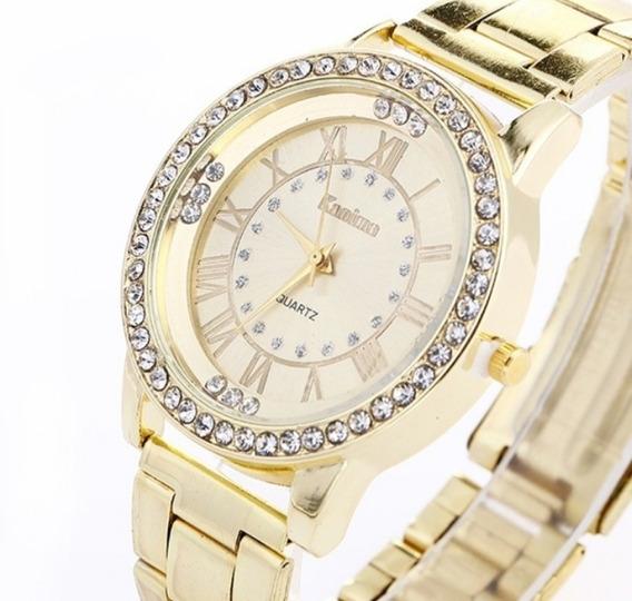 Relógio Feminino De Strass