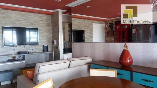 Imagem 1 de 30 de Apartamento Com 1 Dormitório À Venda, 41 M² Por R$ 589.000,00 - Vila Leopoldina - São Paulo/sp - Ap0887