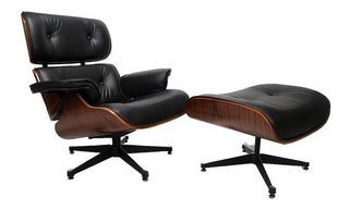 Sillon Miller Con Ottomano Eames Lounge Poltrona - Cuotas