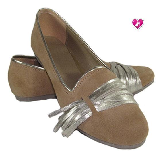 Alpargata Cuero Mocasin Mujer Temporada Aw19 De Shoes Bayres