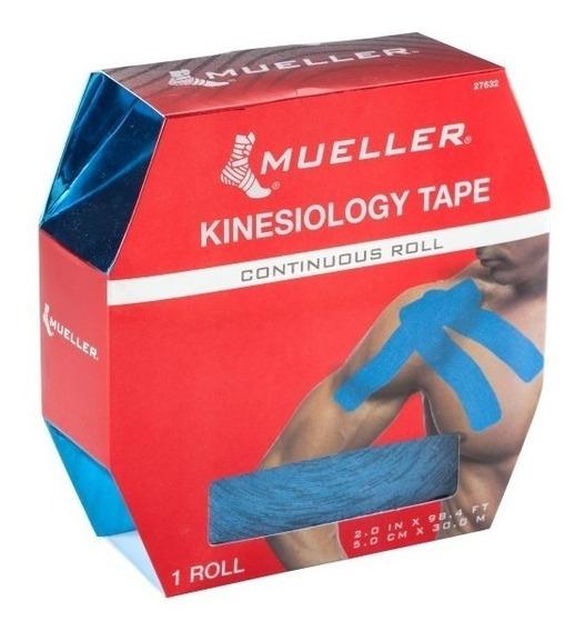 Tape Quinesiologico Mueller Rollo 30mts Resistente Al Agua!!