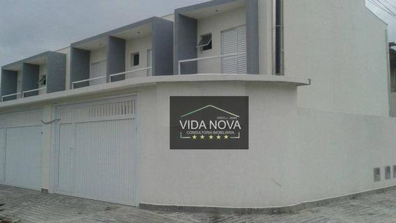 Sobrado Residencial À Venda, Tude Bastos (sítio Do Campo), Praia Grande - So0044. - So0044